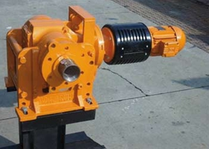 cable reel drive train assembly